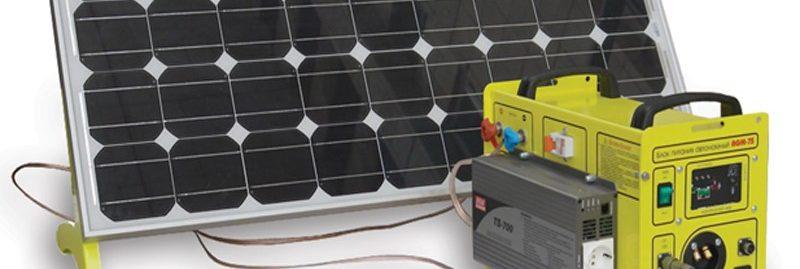 Купить аккумулятор для солнечной батарей или ветряка